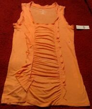 BRAND NEW Beautiful Peach NY&C Women's Blouse, SMALL. CHECK IT OUT!