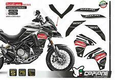 Set Stickers Ducati Multistrada Enduro 1260//1200 Logo Red /& Black en 26