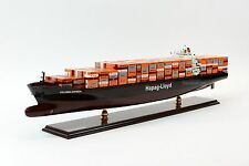 "MV Colombo Express Hapag-Lloyd Container Ship Wooden Ship Model 38"" Scale 1:350"