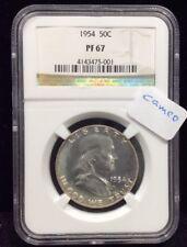 1954 50C (Proof) Franklin Silver Half Dollar NGC PF67