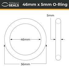 46x5 Nitril (NBR) O-Ringe - 46mm Innendurchmesser X 5mm Kreuz Bereich (56mm mm)