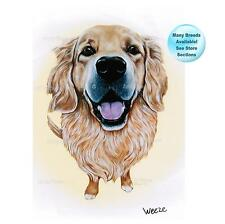 Golden Retriever Art Dog Print Pet Portrait Picture