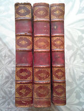 HÉRODOTE HISTOIRE 3 Vol. Firmin-Didot 1821 traduction de MIOT  carte dépliante