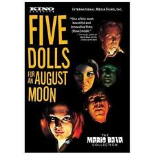 Five Dolls For An August Moon DVD Mario Bava 1970 Mod Italian Thriller