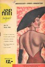 RIFIFI 15 1961 sexy Revue Magazine curiosa Pinup Illustrations cheesecake hat