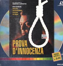 Prova d'innocenza - 1984 - 88 min Laser Disc