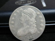 1831 CAPPED BUST HALF -A DECENT PIECE