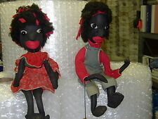 Black Folk Art Dolls