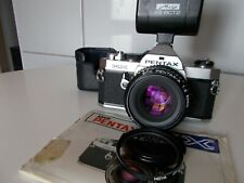 PENTAX MX + SMC PENTAX-A 1:1.2 50MM PILES NEUVES  OK LOMOGRAPHIE LOMO 1979