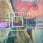 """oil on canvas 30""""x 30"""" modern abstract By Amela Parcic"""