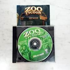 ZOO TYCOON Expansion Pack Dinosaur Digs PC Video Game