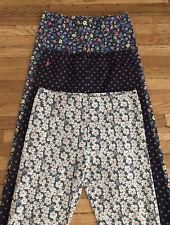 Ralph Lauren Polo Printed Leggings Cotton Blend Stretch Girls L12-14 Bundle Of 3