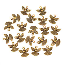 Small Angel Metal Charms, 3/4-Inch, 20-Count