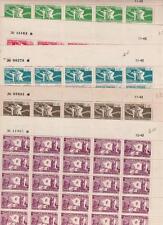 COLONIES FRANCAISES 1943 : 60/64 AIDE COMBATTANTS SERIE EN FEUILLES xx TB