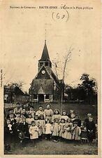 CPA Environs de Crevecoeur - Haute-Epine - L'Eglise et la Place publiqu (259393)