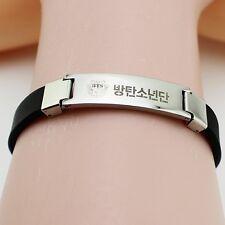 KPOP BTS WINGS Titanium Steel Bangtan Boys SUGA JIMIN JIN V JUNGKOOK Bracelet