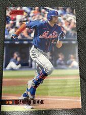 BRANDON NIMMO 2021 Topps Stadium Club Red Foil New York Mets (#246)
