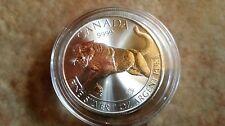 1 oz Cougar pure silver oncia purissimo argento 999.9 fdc nuova 2016 Canada Puma