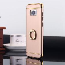 Samsung Galaxy S8/S8+ Phone Case Ring Holder w/ Kickstand Hybrid Slim Hard Cover