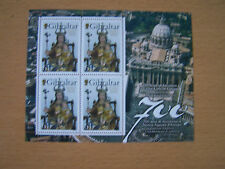 Gibilterra, 2009,700TH ANNIV Madonna dell'EUROPA, Europa, SHEETLET 4 VAL, U/M, CAT £ 14.