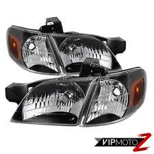 1997-2005 Venture Silhouette Trans Sport Montana Black Headlights Corners Signal