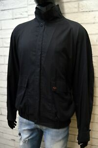 PAUL & SHARK 2xl Uomo Giacca a Vento Blu Giubbino Cappotto Giubbotto Jacket Man