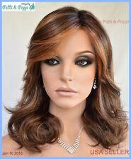 Camera Ready  Lace Front Heat Friendly Monopart Wig Raquel Welch SS8.29 Hazelnut