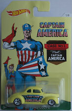 """Hot Wheels - ´40 / 1940 Ford Coupe pastellgelb """"Captain America 1/8"""" Neu/OVP"""