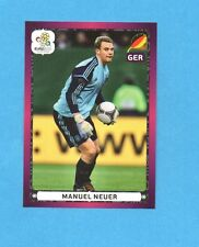 PANINI-EURO 2012-Figurina n.249- NEUER - GERMANIA -NEW-DARK BOARD