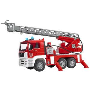 Bruder 1:16 47cm Man TGA Fire Engine Truck w/Water Pump/Light/Sound Kids 4y+ Toy