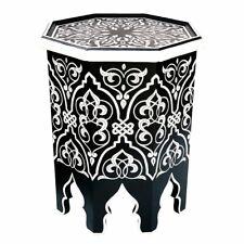 Beistelltisch handbemalter Teetisch orientalischer Holztisch Tisch *SCHAKIRA* SW