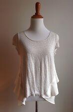 Meadow Rue Anthropologie Linen Shirt Top Blouse Small