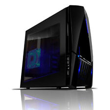 NZXT LEXA S Nero ATX USB 3.0 Gaming PC Midi Tower-Side Window & ventole di raffreddamento