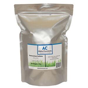 Ammonium Sulfate - 5 Pounds - 99% Pure