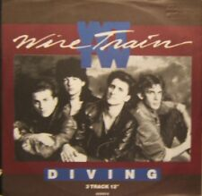 """Wire Train Diving, Flowers, Mercy Mercy Uk 12"""""""