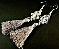 Natural Silver Plated Drop/Dangle Fashion Earrings