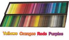 Polychromos Artists' colour pencils - reds, oranges, yellows, purples