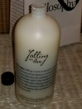 New & Sealed! Philosophy Falling in Love Perfumed Olive Oil Body Scrub 32 oz.