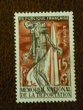 France 1956 15fr National deportation Memorial vf mint hinged SG 1276