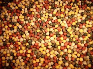 Koifutter 5 Sorten Mix 5 kg / 3 mm 6 mm Spirulina Fischfutter Koi Gold Fisch