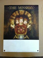 THE MISSION UK Retail 2001 PROMO POSTER for Aura CD USA 18x22 Never Display U.K.