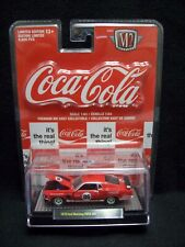 M2 Machines Coca Cola 1970 Ford Mustang Boss 302 Limited Edition.