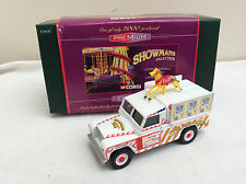 CORGI SHOWMANS 1/50 07413 Land Rover JOHN BIDDALL FUNFAIR    BOXED
