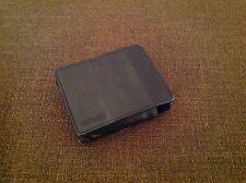 "Garmin 4"" GPS Black Leather Carrying Storage Case"