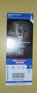 2004 AFL GRAND FINAL TICKET PORT ADELAIDE v BRISBANE