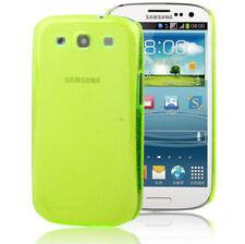 Crystal Case Schutzhülle für Samsung i9300 Galaxy S3 neon grün schimmernd Hülle