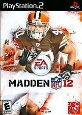 Madden NFL 12 PS2 NEW GREATEST HITS! RAIDERS, STEELERS, COWBOYS, SAINTS, BRONCOS