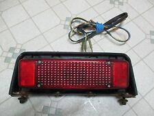 Vintage 82 Yamaha SRV 540 Snowmobile Tail Light Assembly SRX 81 83 84 85 ?