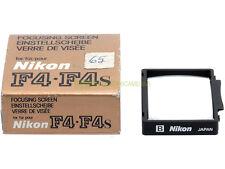 Nikon vetrino smerigliato messa a fuoco B per F4 (schermo). Focusing screen.