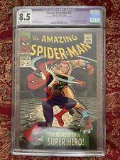 1966 AMAZING SPIDER-MAN COMIC # 42 CGC 8.5 RESTORED CGC GRADED